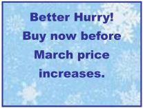 March price increase
