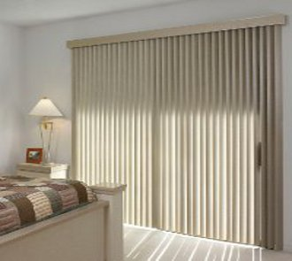 Wooden Vertical Blinds Sheer