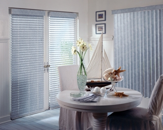 Fire retardant Vertical and other custom blinds made in the USA