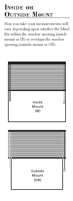 How To Measure Blinds And Shades Blinds Made In Usa