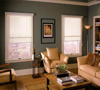 Screen Roller Shades made in the USA