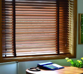 Wood blinds made in the USA