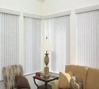 Vinyl vertical fire retadance blinds made in the USA